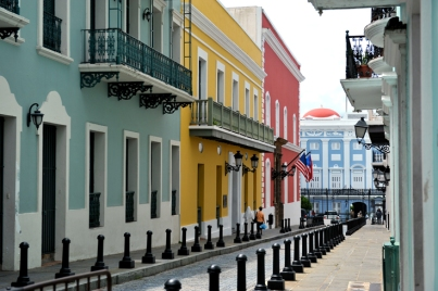 La Fortaleza, the official residence of the Governor of Puerto Rico Old San Juan