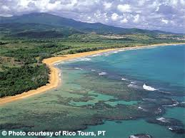 luquillo beach and yunque rainforest