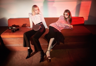 Charles-Keith-Fall-Winter-2016-Hollie-May-Saker-and-Maja-Salamon-by-Glen-Luchford-2